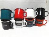 공장 도매 사기질 찻잔 우유 찻잔 커피잔 야영 컵 280ml 400ml 500ml