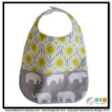 All-Over Printing Baby Acessório Custom Size Baby Bibs