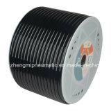 Polyurethan-pneumatisches schwarzes Plastikgefäß (6.5*10mm, 90 Ufer A)