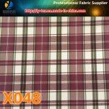 敏速な商品。 Polyeterのライニングの小切手ファブリック(X048-50)