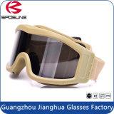 HD breites Objektiv-Anti-UVarmee Sports Militärschießen-Schutzbrillen