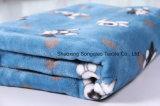 Franela impresa del poliester/tela coralina del paño grueso y suave - 16332-3 1#