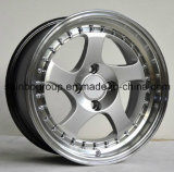 Bordas de alumínio atrativas da roda da liga do carro da roda F45053 de Sainbo