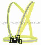 Camada reflexiva de esporte de série elástica para segurança em execução