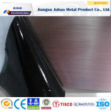 304 304L 430 Noir Ti décoratif de surface des plaques en acier inoxydable
