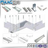 Алюминиевая/алюминиевая система стены перегородки прессовала профиль