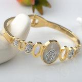 가장 새로운 다이아몬드 팔찌 보석 형식 여자 구렁 열려있는 팔목 팔찌