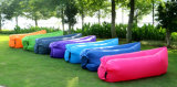 Sofa gonflable à une seule couche d'air de lieu de visites de sac de couchage de l'arrivée neuve TPU (G018)