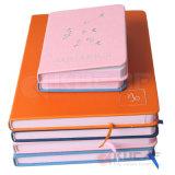 Capa Dura Encadernação costura Notebook Capa de couro de impressão