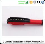 クリップが付いている古典的な赤7 LEDのポケット作業軽いペン