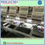 La macchina capa del ricamo del calcolatore di Holiauama 6 con il cappello copre i prezzi del ricamo della maglietta