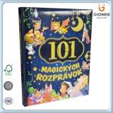 O livro de Hardcover da impressão/livros feitos sob encomenda de Casebound do Fairy diz