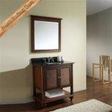 Fed-1556 пятно Отделка ванной кабинета цельной древесины туалетный столик в ванной комнате