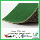 de Groene RubberBevloering van 6mm van Badminton, Basketbal, Volleyball, de Mat van de Tennisbaan