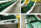Transportador de cinturón de PVC con estructura de acero al carbono para transportar el sistema