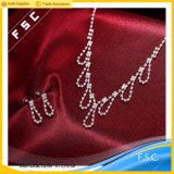 Reeks van de Juwelen van het Kristal van het Ontwerp van de Juwelen van de manier de Imitatie Recentste Bruids