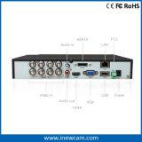 熱いH. 264 P2p HD 720p 8CHデジタルのビデオレコーダーのセリウムRoHS