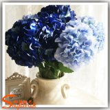 Flor de Hortensia Seda artificial para la boda o un restaurante de decoración