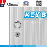 Metálica pequeña portátil de 32 Etiquetas clave cuadro Clave de Armario de almacenamiento