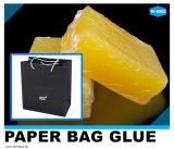 Pegamento caliente blanco de sequía rápido del derretimiento de EVA para la maneta de la bolsa de papel