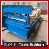 Galvanisierte Metalldach-Fliese-Panel-Rolle, die Maschine 910 bildet