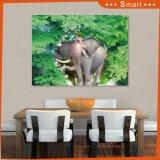 В нескольких минутах ходьбы слонов в лесу дизайн UV панель для украшения дома