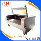 Douane-ontwerp de Machine van Cutting&Engraving van de Laser voor het Knipsel van de Spons (JM-1590t-CCD)
