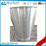 Compartimiento inclinado grabado del acero inoxidable con la base inferior reforzada