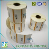 Etiqueta auto-adesiva de papel barato personalizada