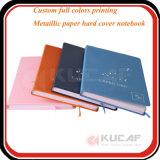 Binding тетрадь крышки кожи печатание книга в твердой обложке