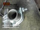 HDG Raccords de tube d'Échafaudage colliers du tuyau de raccord double