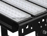 Campo deporte al aire libre de trabajo de 300 vatios de iluminación LED de alto mástil