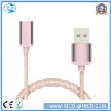 Дешевый магнитный кабель данным по USB Micro 2.4A для Android Samsung