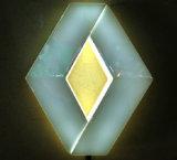 4D LED Firmenzeichen-Abzeichen-Licht für Renault