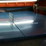 250 Mircon claro hoja rígida de PVC transparente para el plegado de verificación