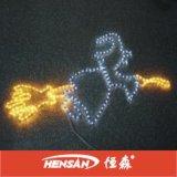 Lumière de corde de Noël