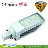 Luz del G-24 Pl de Samsung Epistar SMD2835 E27 E26 E22 13W