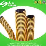 Boyau lourd d'aspiration de PVC de plastique pour transporter des poudres