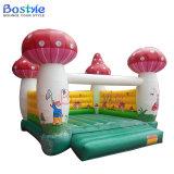 Cavalier gonflable d'air de gosses de champignon de couche, videur gonflable pour des enfants
