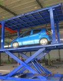 Voiture de type ciseaux Double Deck de levage pour un garage