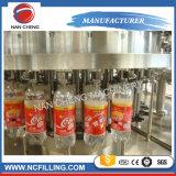 Las botellas de PET de agua de bebida gaseosa de la máquina de llenado de jugo