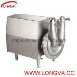Pompe auto-amorçante de l'acier inoxydable CIP pour le lait, Liquild