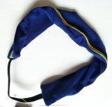 縞の装飾の伸縮性があるスポーツのヘッドバンド