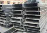Piatto, acciaio del fascio di H e di angolo & acciaio materiali d'acciaio della Manica