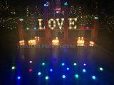 Cartas decorativas de la Navidad LED de la luz de la carpa del día de fiesta de Walmart