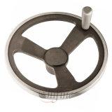 صنع وفقا لطلب الزّبون قالب جبس [ستينلسّ ستيل] عجلة يدويّة
