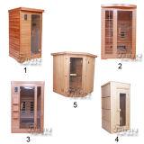 Sitio de vapor al aire libre portable personal o comercial de la sauna