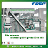 Línea de granulación del polvo de bambú de alto rendimiento 4t/H