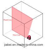 Одна опора трубы Danpon мини линия красного света лазерного уровня лазерных гильзы цилиндра