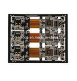 Flex rígida PCB Placa de Circuito Impresso, PCBA, Assembly, OEM
